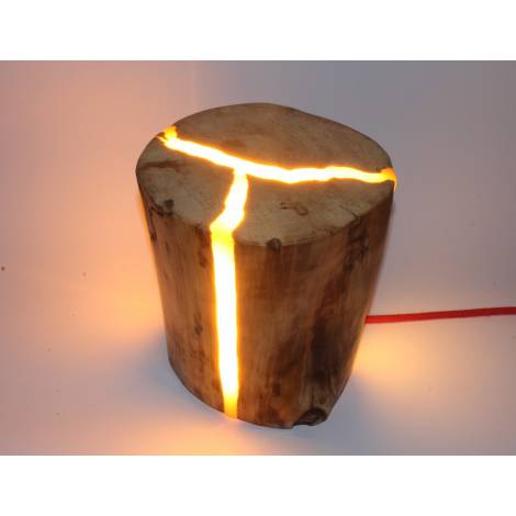 Lampa ogrodowa Pniak